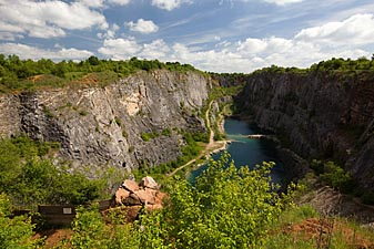 Great America - quarry in Czech Republic