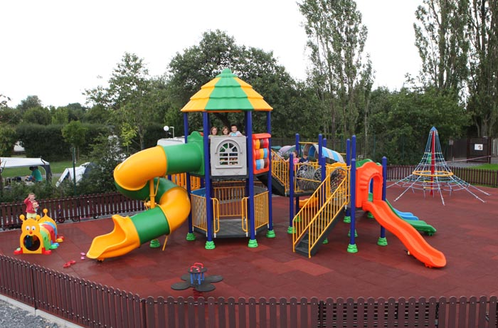 New playground in Camping Oase Praha